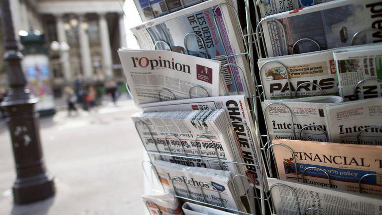 """D'après le baromètre de """"La Croix"""", la presse n'a, entre autres,pas assez parlé de l'entrée de la Croatie dans l'Union européenne. (FRED DUFOUR / AFP)"""