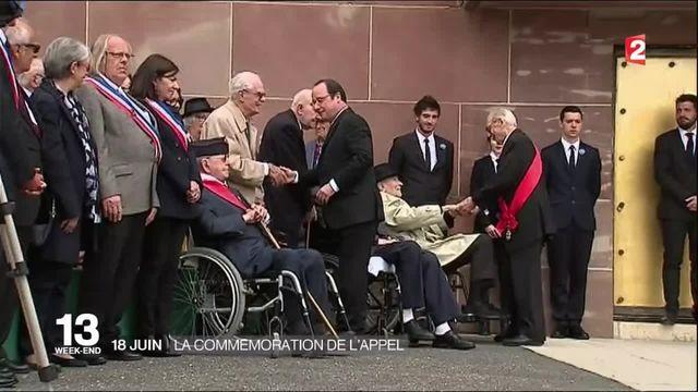 Résistance : François Hollande commémore l'appel du 18 juin