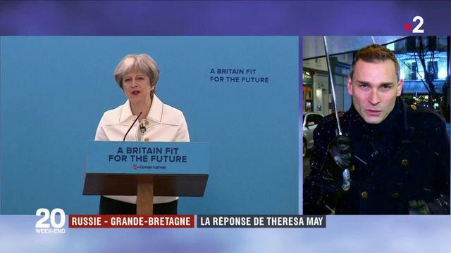 Russie - Grande-Bretagne : la réponse de Theresa May