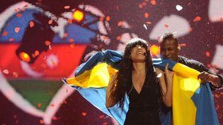 Selon la tradition, c'est la Suède, pays vainqueur, qui organisera la prochaine édition du l'Eurovision  (VYACHESLAV OSELEDKO/AFP)