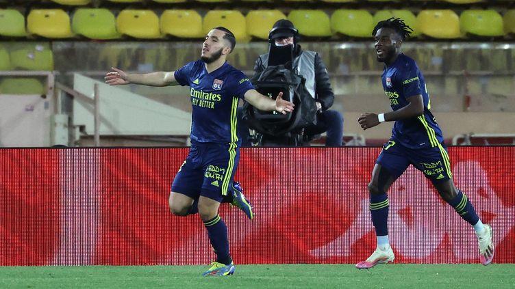 Rayan Cherki, héros de l'OL à Monaco (VALERY HACHE / AFP)