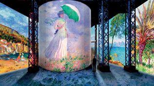 """Exposition """"Monet, Renoir... Chagall. Voyages en Méditerranée"""" (Atelier des Lumières)"""