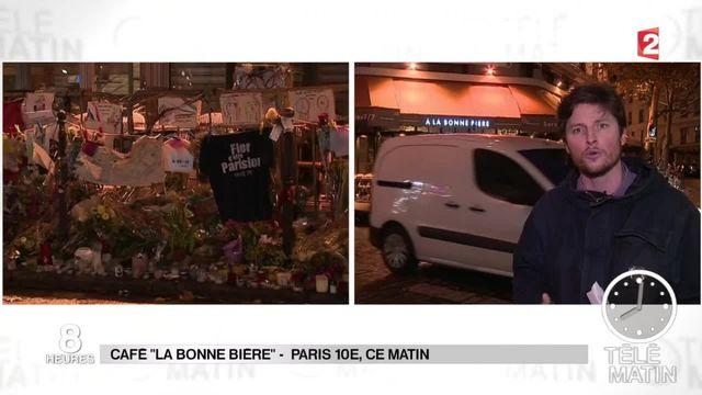 """Attentats de Paris : """"La Bonne Bière"""", premier restaurant attaqué à rouvrir ses portes"""
