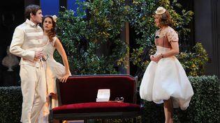 """La Double Inconstance"" de Marivaux, mise en scène d'Anne Kessler  (Raymond Delalande / SIPA)"
