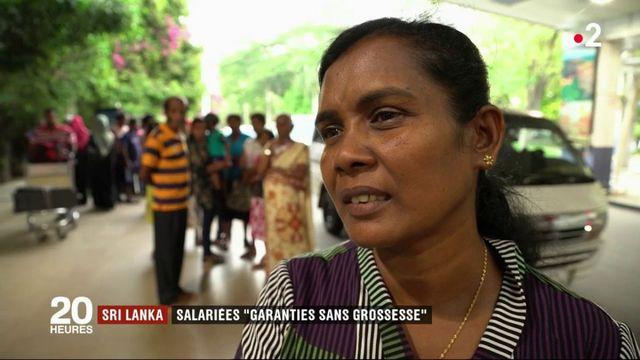 """Sri Lanka : salariées """"garanties sans grossesse"""""""