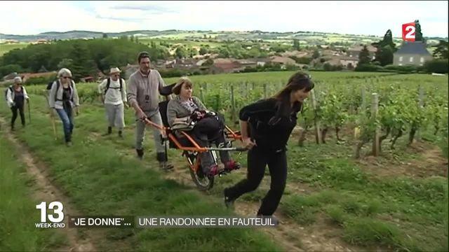 """""""Je donne"""" : la randonnée rendue accessible aux handicapés"""