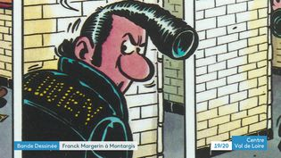 Exposition Franck Margerin à Montargis, Loiret (France 3 Centre Val-de-Loire)