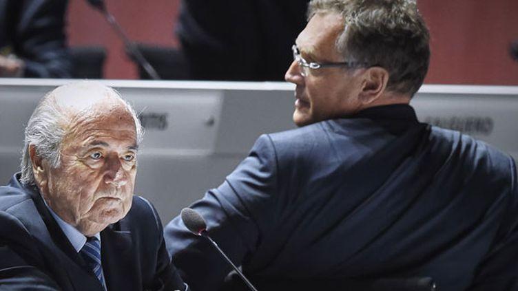 L'ancien président de la Fifa, Sepp Blatter