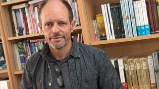 L'écrivain Bernard Minier. (DANIEL FOURAY / MAXPPP)