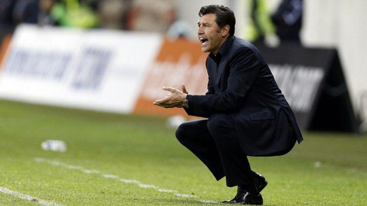 Hubert Fournier, l'entraîneur de Lyon (VALERY HACHE / AFP)