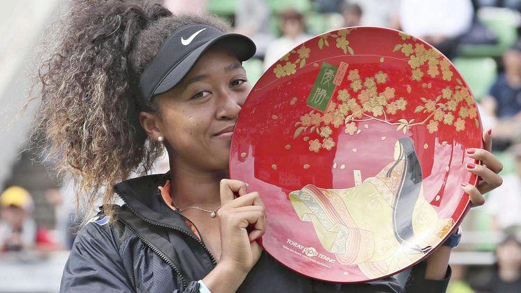 La Japonaise Naomi Osaka avait remporté l'Open de Toray Pan Pacific en septembre 2019 chez elle à Tokyo. (NAOYA AZUMA / YOMIURI / AFP)