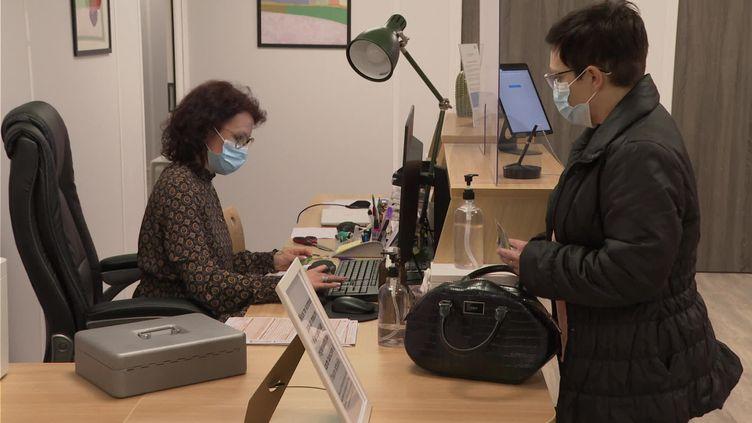 Un centre de télé-ophtalmologie en Haute-Vienne. (FRANCEINFO)