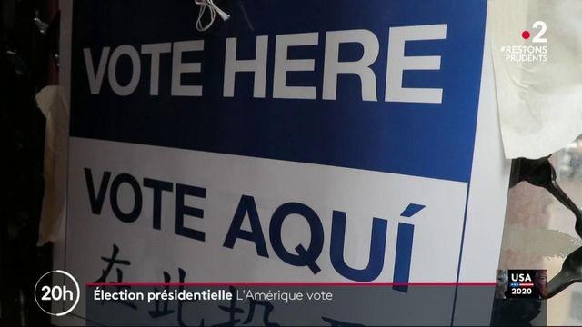Présidentielle américaine : les Américains sont appelés aux urnes
