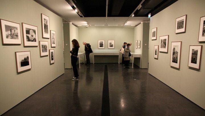 Le nouvel espace d'exposition de la Fondation Henri Cartier-Bresson, inauguré avec une rétrospective Martine Franck (5 novembre 2018)  (Ginies / SIPA)