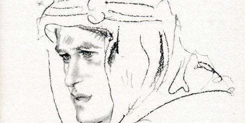 Thomas Edward Lawrence (Lawrence d'Arabie) : autoportrait pour son livre autobiographique «Les Sept Piliers de la sagesse». (AFP/THE ART ARCHIVE)