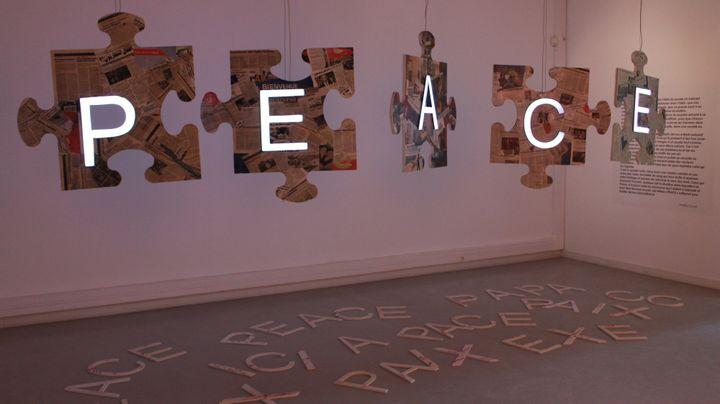 """Peace Puzzle"" de Nadia Zouari  (Aude Meier)"