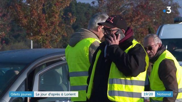 """""""Gilets jaunes"""" : le jour d'après à Lorient"""
