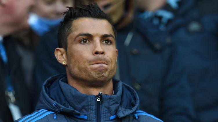 Le joueur du Real Madrid, Cristiano Ronaldo (PAUL ELLIS / AFP)
