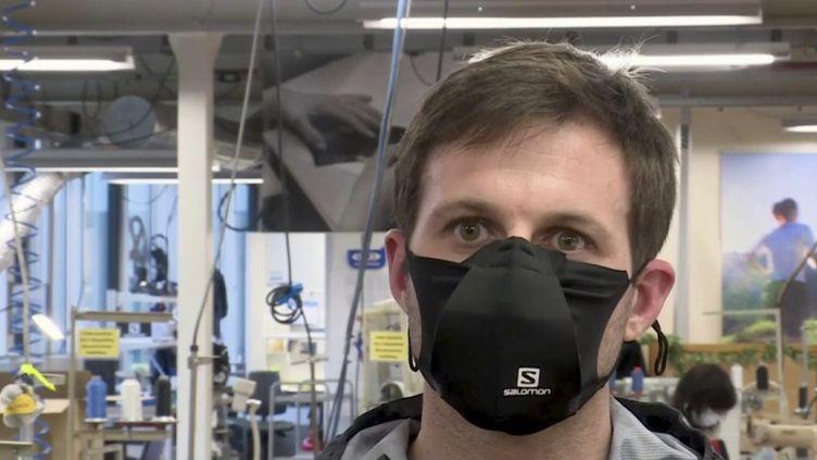 Covid-19 : des masques de sport bientôt commercialisés ? (FRANCE 3)