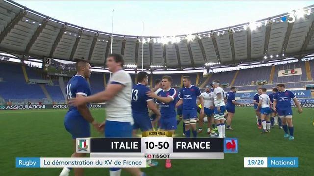 Rugby : Les Bleus en démonstration pour leur entrée en lice dans le tournoi des Six Nations