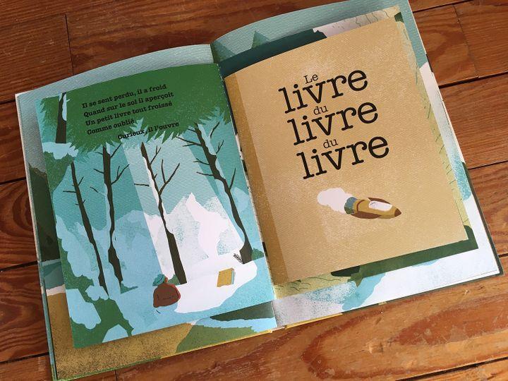 """Le livre du livre du livre du livre"", Julien Baer, Simon Bailly (Hélium)  (Laurence Houot - Culturebox)"