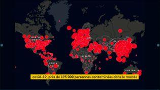 L'épidémie de Covid-19 au 18 mars (FRANCEINFO)