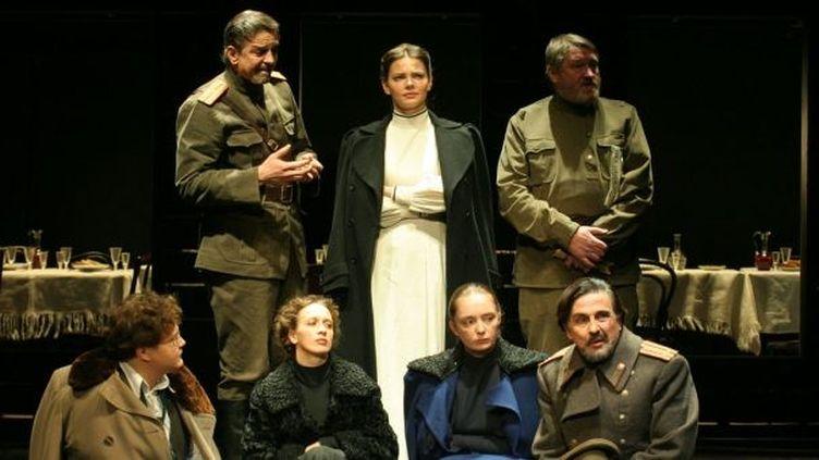 Le chef d'oeuvre d'Anton Tchekhov par le Maly Drama Théâtre.  (Viktor Vassiliev)