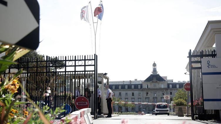 (La Française est sortie samedi de l'hôpital militaire de Saint-Mandé © Maxppp)