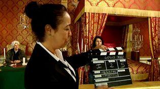 Quand les visiteurs du château de Hautefort jouent les acteurs  (France 3 / Culturebox)
