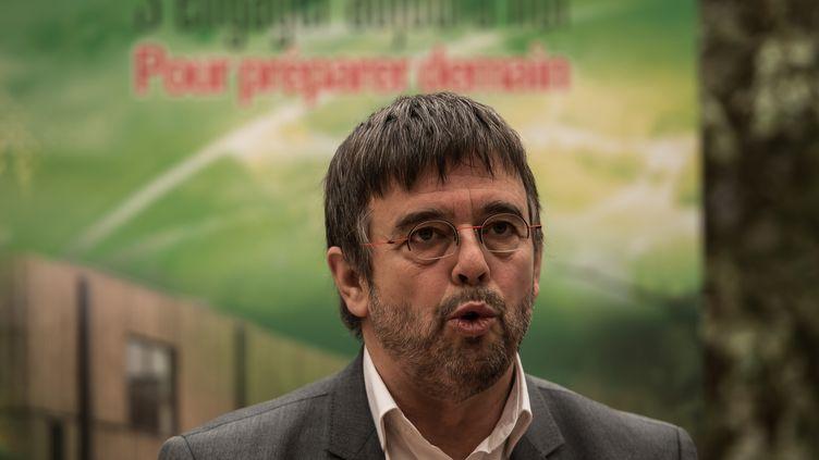 Damien Carême, le maire EELV de Grande-Synthe (Nord), le 20 janvier 2016. (AFP)