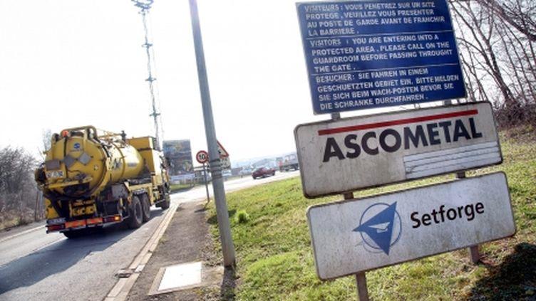 (Le site d'Ascométal en Moselle, à Hagondange © Maxppp - Anthony Picore)