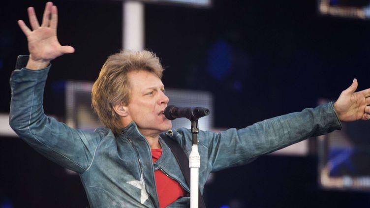 Bon Jovi en concert à Stockholm le 24 mai 2013  (IBL / Rex Features/REX/SIPA)