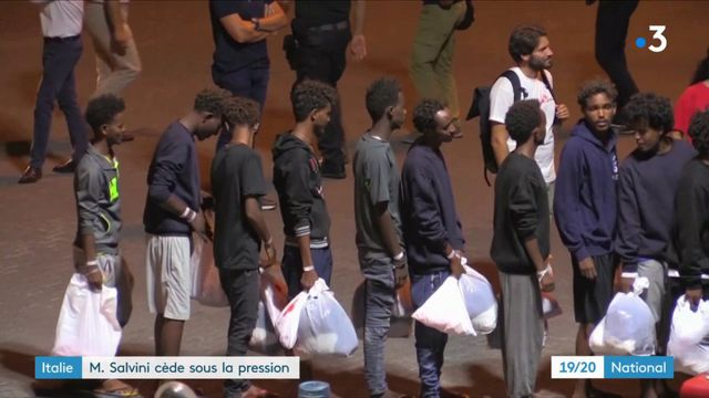 Italie : les migrants du Diciotti ont pu débarquer
