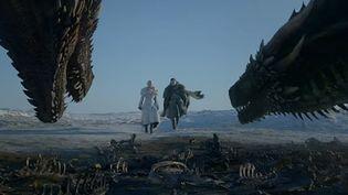 Game of Thrones extrait de la saison 8.  (HBO - saisie écran )