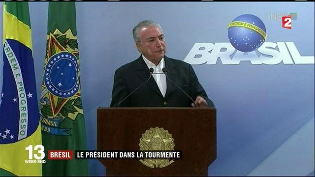 Brésil : le président dans la tourmente