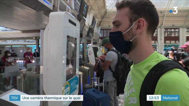 Covid 19 : les gares s'équipent en caméras thermiques