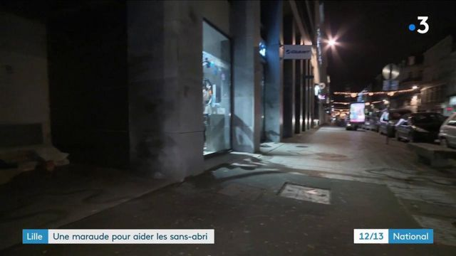 Lille : une maraude pour aider les sans-abri