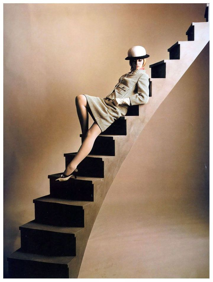 Photo du magazine  (Harper' Bazaar)