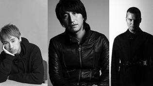 Jun Takahashi (Undercover), Mihara Yasuhiro et Matthew Williams (Alyx)  (DR)