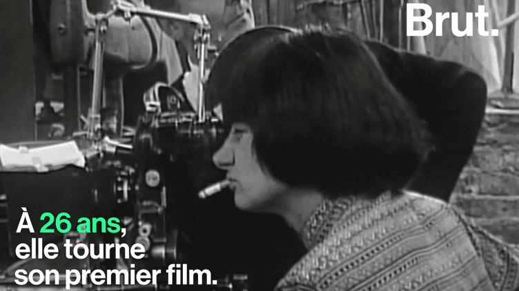 Agnes Varda est la première femme réalisatrice à recevoir un Oscar d'honneur (Brut.)