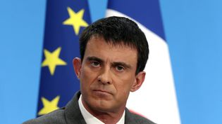 Manuel Valls, le 19 mars 2015, à l'Elysée. ( PHILIPPE WOJAZER / REUTERS)