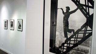 """""""Le Peintre de la Tour Eiffel"""" ici exposé en mai 2012 à Thionville (JULIO PELAEZ / MAXPPP)"""