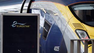 Un train Eurostar en gare de Pancras à Londres (Grande-Bretagne). (AFP)