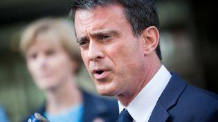 Manuel Valls répond aux questions des journalistes à Paris, le 21 juillet 2015. (MICHAEL BUNEL / NURPHOTO / AFP)