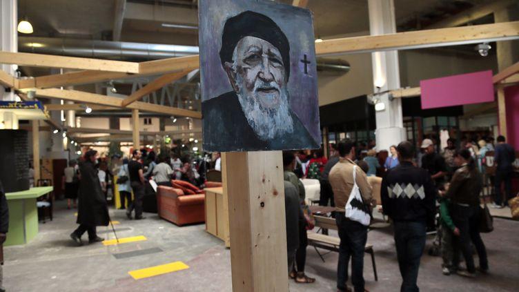 Le centre Emmaüs Défi, à Paris (19e), en 2012. (JACQUES DEMARTHON / AFP)