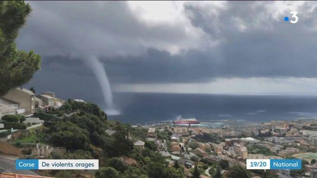 Corse : violents orage sur l'île