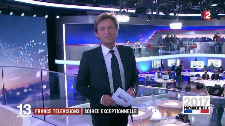 Soirée électorale sur France 2 dimanche 23 avril (FRANCE 2)