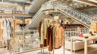 La Samaritaine à Paris, département mode femme, en mai 2021 (Matthieu Salvaing)