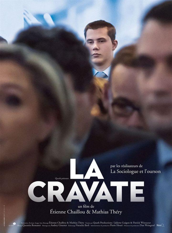 """L'affiche de """"La Cravate"""" deMathias Théry et Etienne Chaillou. (Nour Films)"""
