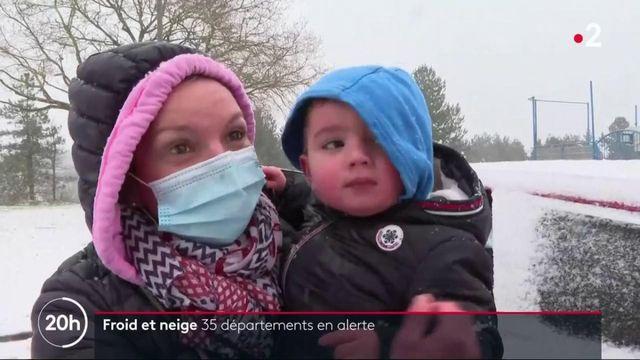 Neige et froid : 35 départements sont en alerte dont ceux de la péninsule bretonne